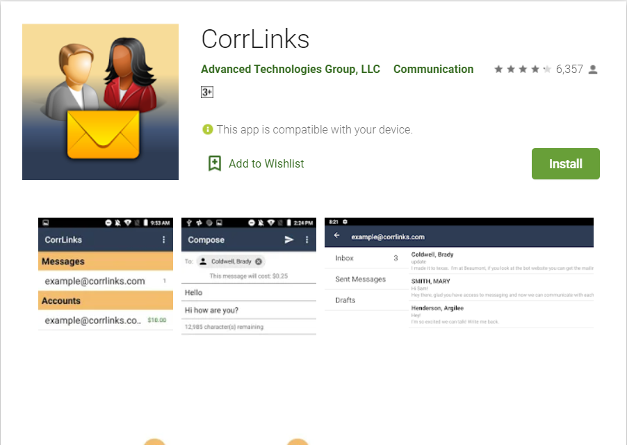 Corrlinks Mobile App